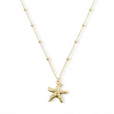 Srebrny naszyjnik rozgwiazda