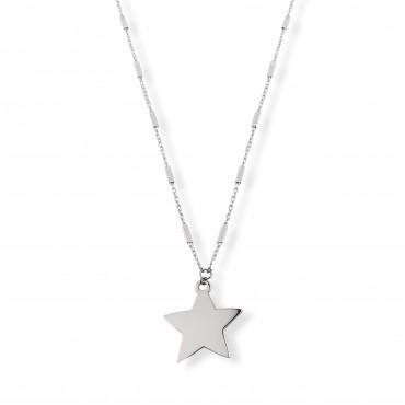 Srebrny naszyjnik gwiazda